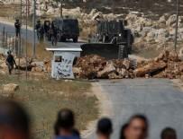 PLASTİK MERMİ - İsrail polisinden Filistinlinin köyüne baskın
