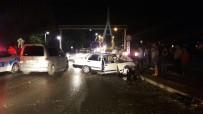 MİMAR SİNAN - Manavgat'ta Trafik Kazası Açıklaması 1 Yaralı