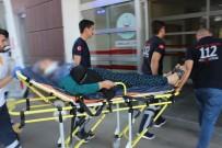 PİRİ REİS - Motosikletten Düşen Kadın Yaralandı