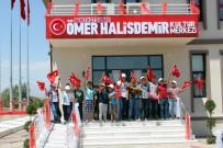 ÖMER HALİSDEMİR - Şehit Halisdemir'in Adı Memleketindeki Kültür Merkezinde Yaşayacak