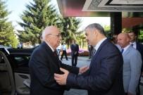 MUSTAFA ELİTAŞ - TBMM Başkanı Kahraman, Başkan Çelik'i Ziyaret Etti