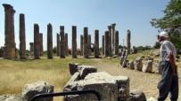UZUNCABURÇ - Uzuncaburç Amfi Tiyatro'da Kazı Çalışmaları Başladı