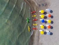 ÇEVRE TEMİZLİĞİ - Van Gölü kıyısında halk plajı açıldı