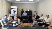 GÖREV SÜRESİ - Vergi Dairesi Müdürü Şengül'den KİTSO'ya Veda Ziyareti