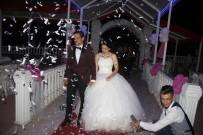 ÇEKIM - Yarıda Kalan Düğün 10 Ay Sonra Yeniden Yapıldı