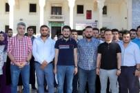 GENÇLİK KOLLARI - AK Partili Gençlerden İsrail'e Tepki