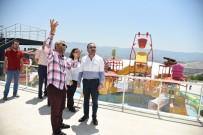 YÜZME - Başkan Doğan, Aquaparkta İncelemelerde Bulundu