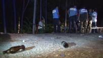 KALABA - Başkent'te Alkollü Şahıs, Atık Suların Aktığı Dereye Düştü