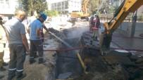 KEPÇE OPERATÖRÜ - Başkent'te Doğalgaz Borusunun Patlaması