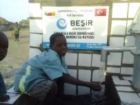 AFRIKA - Çanakkale Ensar Vakfı Şubesi Afrika'da Su Kuyusu Açtı