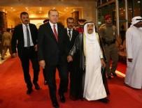 KUVEYT - Cumhurbaşkanı Erdoğan Kuveyt'te