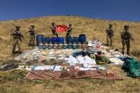 UZMAN ÇAVUŞ - Terör örgütüne ait iki odalı sığınak imha edildi