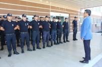 ÇEVİK KUVVET - Emniyet Müdürü Alper'den Çevik Kuvvet Polislerine Ziyaret