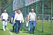SANI KONUKOĞLU - Gazişehir FK Başkanı Ve Yöneticileri Düzce'de