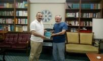 TÜRKIYE YAZARLAR BIRLIĞI - Giresun Üniversitesi Rektörü Çoşkun TYB Erzurum Şubesi'ne Ziyaret Etti