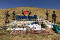 UZMAN ÇAVUŞ - PKK'nın 2 Odalı Sığınağı İmha Edildi