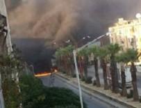 BOMBALI ARAÇ - Suriye'de bombalı araçla saldırı