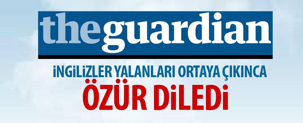 The Guardian çark etti