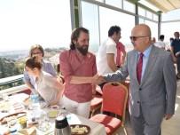 BASıN İLAN KURUMU - Başkan Çoban, 24 Temmuz Basın Bayramı'nı Gazeteciler İle Kutladı