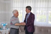 Başkan Şirin'den Muhtar Yaşar'a 'Geçmiş Olsun' Ziyareti