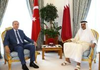 KUVEYT - Cumhurbaşkanı Erdoğan Katar Emiri İle Görüştü