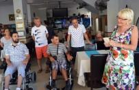BEYİN KANAMASI - Didim Halp İn Hands Grubu İki Engelliyi Daha Sevindirdi