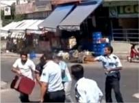 EHLİYETSİZ SÜRÜCÜ - Ekip Otosuna Çarpan Sürücünün Abisini Vuran Polise Tahliye