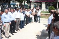 ÖZLÜK HAKLARI - Gazeteciler Basın Anıtı'na Çelenk Bırakıp Meşale Yaktı