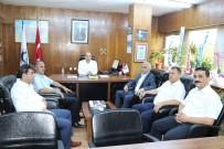 AHMET DEMIRCI - GMİS Yönetimi, TTK'da Göreve Atanan Yöneticileri Ziyaret Etti