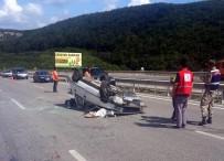 112 ACİL SERVİS - Hastane Dönüşü Kaza Açıklaması 3 Yaralı
