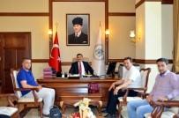 ERZİNCAN VALİSİ - İhlas Haber Ajansı Heyetinden Erzincan Valisi Ali Arslantaş'a Ziyaret