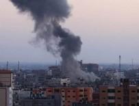 GAZZE - İsrail'den Gazze'ye roketli saldırı