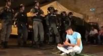 GÖZ YAŞARTICI GAZ - İsrail Polisi 21 Filistinliyi Yaraladı