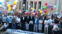 AVRUPALı - İstanbul Adliyesi Önünde Cumhuriyet Çalışanlarına Destek Eylemi