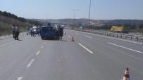 KEMERBURGAZ - Jandarmadan Hafriyat Kamyonlarına Yönelik Uygulama