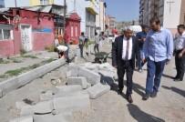 ALI ÇELIK - Kars'ta Yol Ve Kaldırımlar Yapılıyor