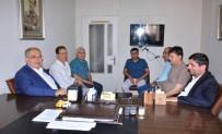 İBRAHİM ASLAN - Kutlu'dan Gazeteciler Cemiyetlerine Basın Bayramı Ziyareti