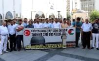 GENÇLİK KOLLARI - Mescid-İ Aksa'nın İbadete Kapatılması Mersin'de Protesto Edildi