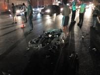 KIRMIZI IŞIK - Motosiklet Kamyona Çarptı Açıklaması 1 Ölü