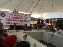 KIDEM TAZMİNATI - Öz Taşıma İş Sendikası Basın Bayramı'nı Kutladı