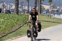AVUSTRALYA - Hollanda'dan Bisikletle İzmir'e Geldi