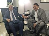 ŞANLIURFA MİLLETVEKİLİ - Özyavuz'dan  Tarım Bakanı Fakıbaba'ya Hayırlı Olsun Ziyareti