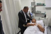 SİİRT VALİSİ - Siirt Valisi Atik Yaralı Askeri Ziyaret Etti