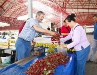 MUSTAFA TUNA - Sincan Belediyesi Üretici Pazarına Yoğun İlgi