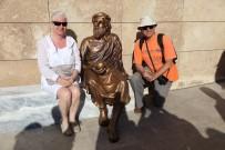 FELSEFE - Tartışılan Anaksagoras Heykeli Bakıma Alındı