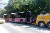 BEYLERBEYI - Üsküdar'da Freni Boşalan Otobüs 10 Araca Çarptı Açıklaması 11 Yaralı