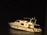 KUMLUOVA - 113 Göçmenin Bulunduğu Tekne Batmak Üzereyken Kurtarıldı
