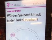 ALMANYA - Almanya'dan alçak 'Türkiye'ye gitmeyin' uyarısı