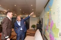 ZEYTİNYAĞI - Arnavutluk Büyükelçisi'nden Başkan Uğur'a Ziyaret