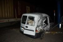 YÜK TRENİ - Aydın'da Tren Kazası; 1 Yaralı